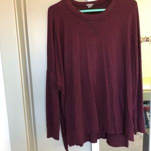 Aerie plush sweater